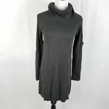 New Inc womens cold shoulder dress size 2XL charcoal gray metal chain links