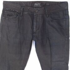 Mens SuperDry SKINNY Stretch Black Jeans W36 L34