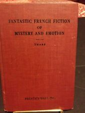 Old Rare 1929 - Fantastic French Fiction Mystery Emotion book in French by Tharp