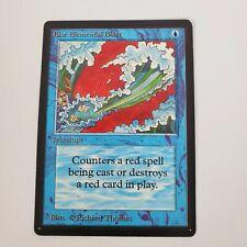 Vintage 1993 Magic The Gathering MTG Beta Blue Elemental Blast Jade's Collection