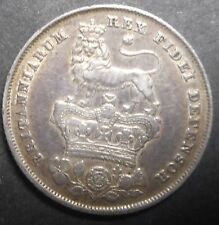 Great Britain 1825 George IV  Silver Shilling Better Grade