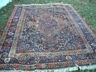 CLEARANCE SALE! BEAUTIFUL ANTIQUE 1920'S AUTHENTIC MIDDLE EASTERN RUG 7.4X10.1