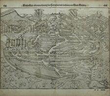 Holzschnitt 1588 - BESANCON Bisantz - Münster