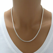 "925 Sterling Silver 30"" 3mm snake Chain Necklace"