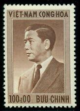 SOUTH VIETNAM #50 100pi Ngo Din Diem, og, NH, VF, Scott $60.00