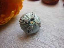 collection bouton vintage passementerie bleu soie?brillanté? 1,8 cm G9I