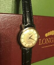 LONGINES Automatic in Box Running 19AS Caliber 17 Jewels Swiss Made Watch
