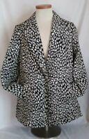 Marina Rinaldi Women's Fleece Wool  Outerwear Coat Jacket Size 25