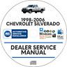 Chevrolet Silverado 1998-2006 Factory Service Repair Manual