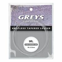 Greys Knotless Tapered Leader