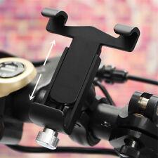 Universal Fahrrad Lenker GPS Handy Halterung Schwarz Alu für iPhone X 8 Samsung