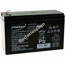 Powery Blei-Gel-Akku für USV APC Back-UPS CS350 12V 7,2Ah/86Wh Lead-Acid Schwarz