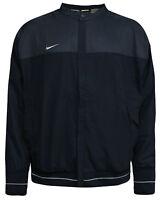 Nike Mens Zip Up Jacket Football Windbreaker Navy 277091 460 M10