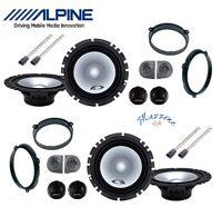 ALPINE SXE-1750S KIT 8 CASSE PER FIAT PANDA 03>12 169 SUPP/CON ALTOPARLANTI AUTO