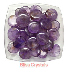 Bliss: 1 XL AMETRINE Tumbled Palm Stone Crystal - Amethyst Citrine For Healing