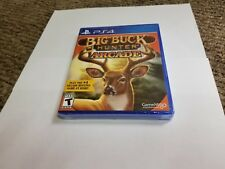 Big Buck Hunter Arcade (Sony PlayStation 4, 2016) new sealed