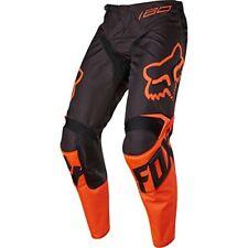 Pantalons de cross orange en polyester
