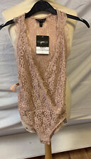 Top Shop Body Suit Size 6 BNWT