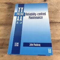 Reliability-Centred Maintenance RCM II 2.2 by John Moubray Hardback Book