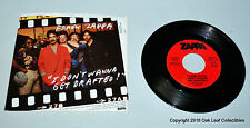 Frank Zappa Mono/Stereo Promo I Don't Wanna Get Drafted 1980 Mint with PS