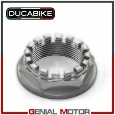 Dado Corona in Ergal lavorato CNC Silver DPC01E Ducabike Ducati 848 2008 > 2013