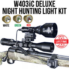 Wicked Lights W403iC Deluxe Night Hunting Light Kit for Coyotes & Hogs W2015