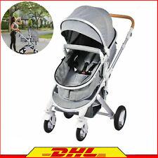 3 in 1 Luxus Kinderwagen Alu Babyschale Autositz Babywanne Sportsitz DHL