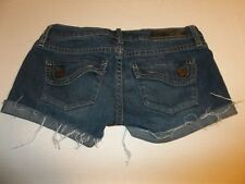 Womens Size 00 Fox Racing Denim Blue Jean Shorts