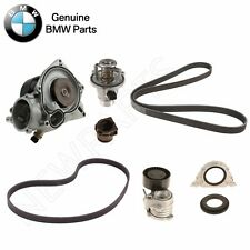 For BMW F06 F07 Water Pump & Gasket with Belts Thermostat & Crankshaft Seals OES