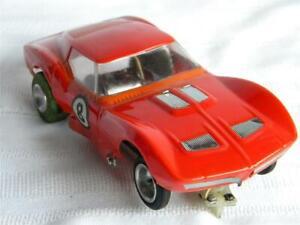 Vintage SLOT CAR 1/24 Scale~MAKO SHARK~Corvette~Blown Motor~Parts or Repair