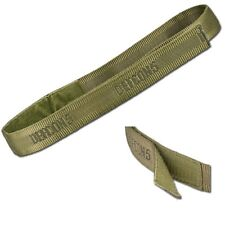 CINTURA A NASTRO  IN CORDURA VELCRO OD DEFCON 5 airsoft TACTICAL belt D5-BE/VE V