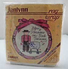 Janlynn Counted Cross Stitch Kit w/Rag Wrap Frame - #02-65 Lifes Pleasures