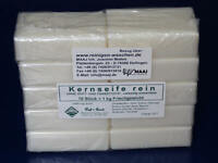 1 kg KERNSEIFE REIN SEIFE WEISSE PURE CURD SOAP JABON SAPONE WHITE BLANCO FREE