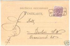 Postkarte, DR, Michel 40 EF, preuss. Kastenst., Werder Reg. Bez. Potsd. 18.10.86