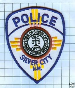 Police Patch  - New Mexico - Silver City