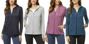 32 Degrees Ladies' 2-Pack Lightweight Hoody with UPF 40+