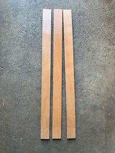 Lot de 3 Lattes pour Sommier  1 Pers - 88,5x5,4x0,8cm