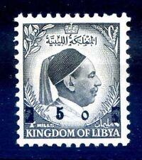 LIBIA INDIPENDENTE 1955 - RE IDRISS  PROVVISORIO  NUOVO **