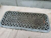 Antique Cast iron Radiator topper Cover  20 1/2 x 9 x 3 1/2""