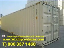 40' High Cube New Shipping Container, 40ft HC One Trip Container, Houston, TX