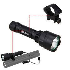 5000LM XM-L T6 LED Tactical Flashlight Torch Shotgun/Rifle Mount Hunting Gun