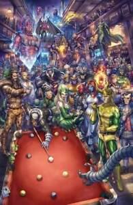 The Marvels #2 (2021) Alan Quah Cover B Virgin Variant Cover Marvel Comics