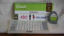 Cricut Cartridge - SUBURBIA - Gently Used - No Box
