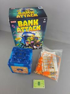 Bank Attack Electronic Game - IDEAL - New Open Box - Complete - Free P&P - VGC