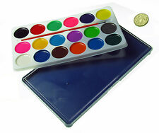 18 WATER COLOURS SET , watercolor , Art ,Artist ,Kids Toy Watercolor Painting