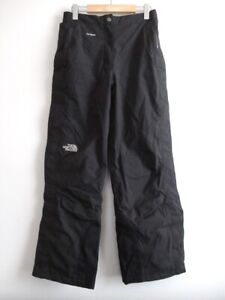 EUC The North Face Womens HyVent Insulated Tear Away Snow Ski Pants Black Size S