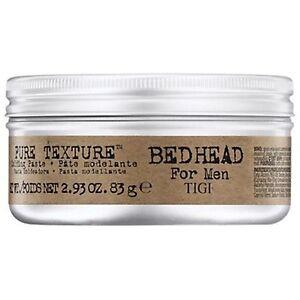 TIGI BED HEAD FOR MEN PURE TEXTURE MOLDING PASTE 2.93 OZ / 83 g