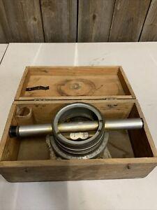Bostrom - Brady No. 2 Farm Surveying Level Scope w/Box Architect's Tool (H)