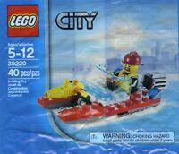 LEGO City (30220) Fire Speedboat Polybag NEW Retired TRU Exclusive