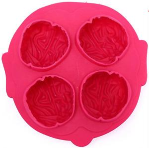 Silicone 3D Cerveau Cuisson Moule Glaçon Halloween Gothique Craft Cire Fondre